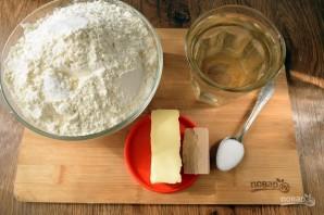 Пирог с помидорами и базиликом - фото шаг 1