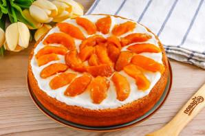 Сметанный торт с вареньем