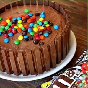 Торт на день рождения девочке 9 лет - фото шаг 3