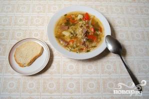 Сытный суп из телячьего сердца - фото шаг 5