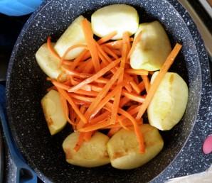 Нежная свинина в сырно-сливочном соусе - фото шаг 6