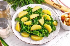 Салат с тунцом и сухариками - фото шаг 3