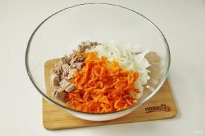 Салат из свинины и моркови - фото шаг 5