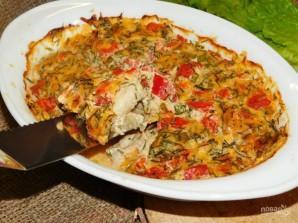 Рыба под сметанным соусом с овощами и пармезаном - фото шаг 6