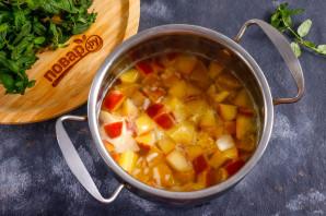 Фруктовый суп с рисом - фото шаг 6
