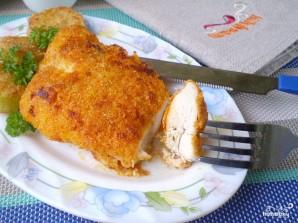 Куриная грудка на сковороде - фото шаг 11