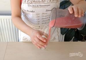 Арбузный освежающий смузи - фото шаг 4