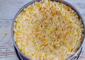 Рисовый пирог со скумбрией - фото шаг 5