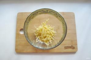 Салат из спаржевой фасоли с ветчиной - фото шаг 1