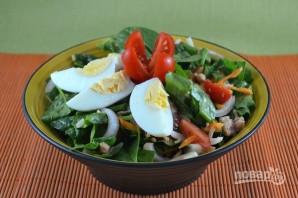 Салат из шпината свежего - фото шаг 7