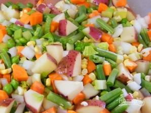Суп мясной с овощами - фото шаг 3