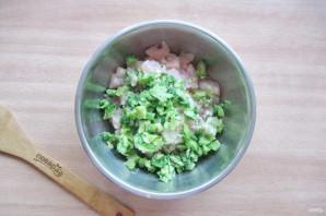 Куриные оладьи с брокколи - фото шаг 5