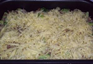 Брокколи с фаршем в духовке - фото шаг 6