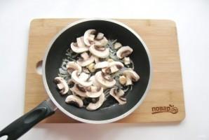 Теплый салат из шампиньонов с топинамбуром - фото шаг 3