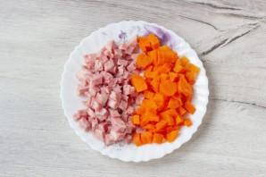 Аспик из курицы и овощей - фото шаг 3