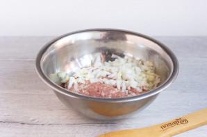 Яичный рулет со свининой и базиликом - фото шаг 7