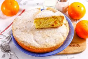 Бисквит с мандаринами - фото шаг 7