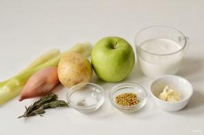 Суп с яблоком и сельдереем - фото шаг 1