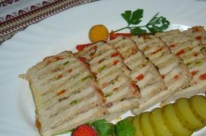 Свинина, фаршированная мясом - фото шаг 5