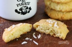Ванильное кокосовое печенье - фото шаг 6