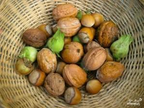 Запеченные яблоки с орехами - фото шаг 1