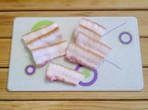 """Картошка с салом в духовке """"Кораблики"""" - фото шаг 3"""