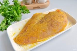 Курица с куркумой в кисло-сладком соусе - фото шаг 2