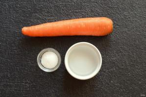 Розы из моркови - фото шаг 1