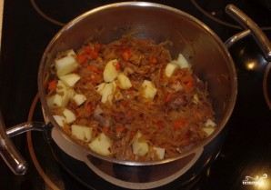 Щи из капусты со свининой - фото шаг 2