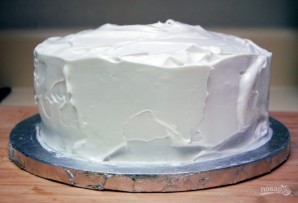 Бисквитный торт с ликёром - фото шаг 9