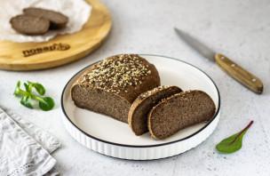 Хлеб из зеленой гречки без дрожжей - фото шаг 9