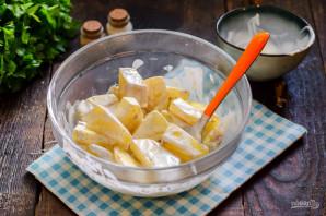 Картошка в сметане в микроволновке - фото шаг 7