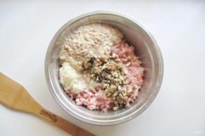 Котлеты из свинины с грибами - фото шаг 5