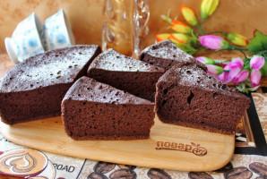Шоколадный шифоновый бисквит - фото шаг 16