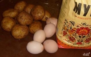 Картофельные зразы отварные - фото шаг 1