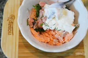 Рийет из лосося с миндалём - фото шаг 4
