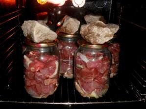 Тушенка из говядины в духовке - фото шаг 2