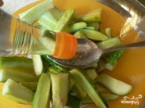 Салат по-корейски из огурцов - фото шаг 4