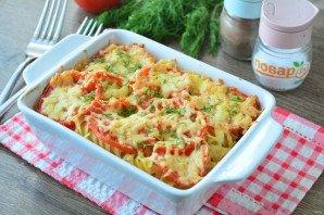 Запеканка из макарон с помидорами и сыром - фото шаг 10