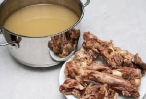 Суп с фасолью и мясом - фото шаг 2