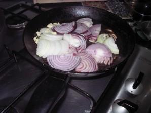 Картошка с сосиской - фото шаг 3