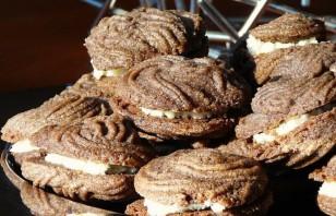 Шоколадно-ванильное печенье - фото шаг 3