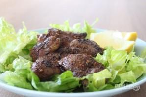 Жареная куриная печень - фото шаг 5