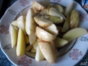 Молодой картофель в фольге - фото шаг 1