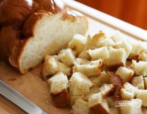 Хлебный пудинг из тыквы - фото шаг 2