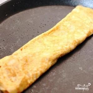 Японский омлет с соевым соусом - фото шаг 4