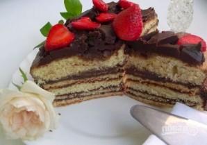 "Торт ""Добош"" - фото шаг 10"