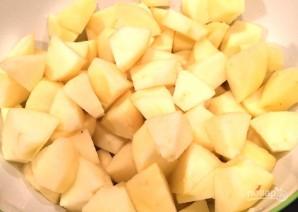 Яблочный коблер - фото шаг 1