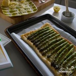 Тарт со спаржей и лимоном - фото шаг 4