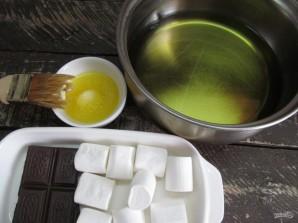 """Индийские пирожки """"Самоса"""" с зефиром и шоколадом  - фото шаг 2"""